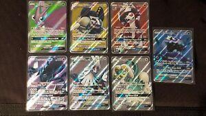 Pokemon Necrozma, Lycanroc, Venomoth, Drampa GX and more Sun & Moon Lot NM