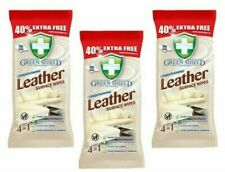 3 x Green Shield Leather Surface Wipe Conditioning Dirt Grime Protect 210 Wipes