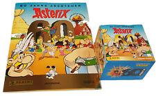 Panini 60 Jahre Asterix Abenteuer Sammelalbum + 1 x Display -  50 Tüten Sticker
