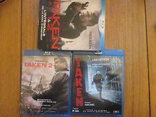 Taken 1 & 2 L'intégrale de la Saga Evenement ~~ Blu-Ray 2 CD Dont 1 Neuf Blister