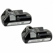 Hitachi BSL1815S 18V Lithium Ion 2 Pack New for DS18DSAL CR18DSL CR18DSL