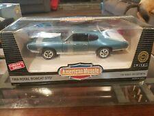 1969 Pontiac GTO Royal Bobcat Die Cast Car 1:18 Scale NIB