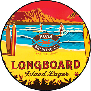 11.75in Round Longboard Lagerr sign (2 sizes)