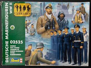 Revell 1:72 scale Deutsche Marinefiguren WWII - German Navy WWII plastic figures