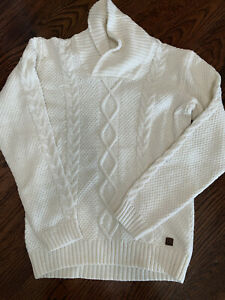 Janie Jack Boys Sweater Pullover White Cream Size 8