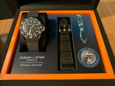 Mido Ocean Star Tribute Black Ref. M026.830.11.051.00 Near Mint Limited Special