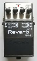 Mint BOSS RV-6 Reverb Guitar Effects Pedal 2017 #6 Free Shipping with Box