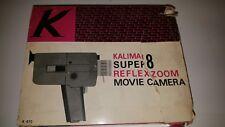 Vintage in Box Complete Kalimar Reflex Zoom Super 8 Electric Movie Camera