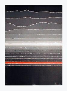 WINTER - Rare Pencil Signed Serigraph - Mint Condition Print By Arthur Secunda