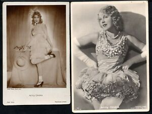 4/13.ANNY ONDRA,9 GERMAN POSTCARDS LOT,4 SCANS