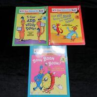 Dr. Seuss Beginner Fun Books Lot of 3 Preschool Kindergarten Grade 1 Homeschool