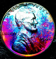 """1948-D Lincoln Wheat Penny Cent- """"Beautifully Toned"""" SUPERB MS++ GEM++ BU++ 05"""
