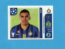 PANINI-CHAMPIONS 2011-2012-Figurina n.75- LUCIO - INTER -NEW BLACK