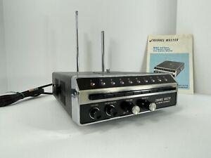 Vintage Channel Master 10 Channel 4 Band Auto Scanner Model CS 6794 Super Clean