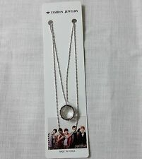 SHINee Necklace Chain with Ring Pendant KPOP Star Gift New