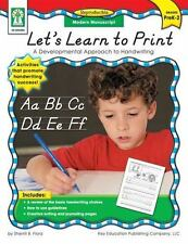 Let's Learn to Print : A Developmental Approach to Handwriting by Sherrill B. F…