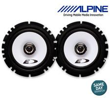 "Alpine 6-1/2"" (16.5cm DIN) 2-Way Coaxial 220W Car Stereo Radio Audio Speakers"