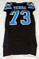 #73 Ross Verba of Detroit Lions NFL Game Issued Alternate Jersey