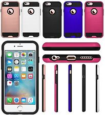 AMZER Ultra Slim Hybrid Shockproof Bumper Case Cover for Apple iPhone 6s 6 Plus