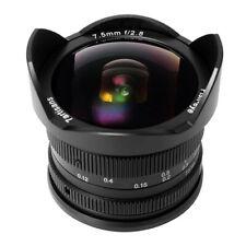 7artisans 7.5mm f/2.8 Fisheye Lens for Fujifilm X Mount Cameras (Black)