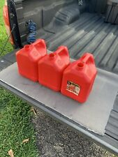 3 Blitz 50810 2 Gallon 8 Oz Ventless Plastic Gas Can
