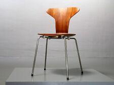 Früher Munkegaard Stuhl 3105 Teak von Arne Jacobsen für Fritz Hansen Mosquito