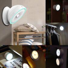 360° Magnetic Motion Sensor Detector LED Night Light Desk Wall Lamp  Y