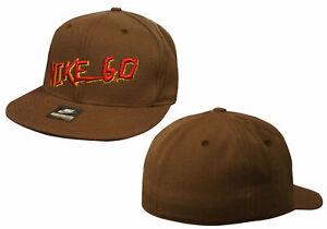 Nike 6.0 Skateboarding Mens Snapback Cap Adults Hat Brown 239241 210 OPU109