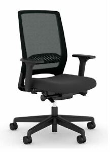 Viasit Kickster Bürodrehstuhl Netzrücken Schwarz