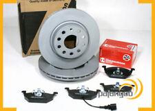 VW Jetta IV - Zimmermann Bremsscheiben Coat Z Bremsen 1ZM Bremsbeläge für vorne*