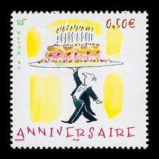 France 2004 - Anniversary Animation Cartoon Cellebration - Sc 3042 MNH