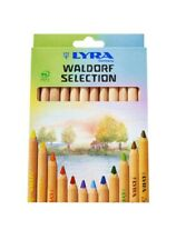 Lyra Waldorf Selection Triangular Colouring Pencils - Assorted Colours - 12 Pack