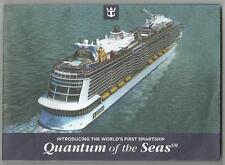 ms Quantum of the Seas..cruise ship.... Deck Plan  RCI   2014