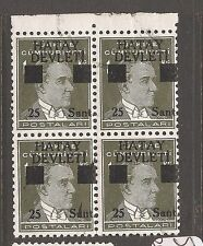 Turkey Hatay SC 2a MNH block of 4 (4axw)