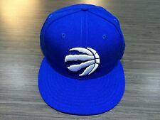 Toronto Raptors Basketball Claw Ball Huskies Blue White 59Fifty Hat Cap 7 3/8