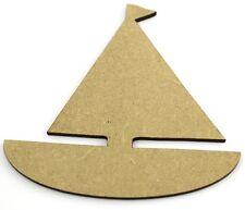 En bois découpe, embellissements-bateaux 7cm mdf laser cut