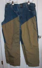 2 Pair Redhead Field Hunting/Shooting Brush Jeans Pants 38x32