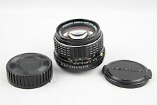 SMC Pentax-M 50mm F/1.4 CAMERA LENS PK Mount w/ Lens Caps, Mechanically WORKING