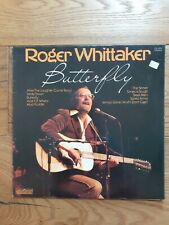 Job Lot of 2 x Roger Whittaker Vinyl Lps - Butterfly & The Very Best of