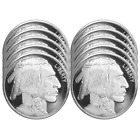 Lot of 10 - 1 Troy oz Buffalo .999 Fine Silver Round <br/> Buy with Confidence & Free Shipping from Pinehurst!