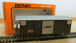 Bemo 2056 Freight Car Rhb Narrow Gauge H0m Like New Original Packaging