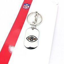Cleveland Browns Stainless Steel Key chain NFL hologram authenticity USA