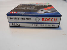 New Lot of 4 Bosch Double  Platinum 8102 Plugs