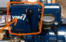 VIRE 7 'LATE MODEL' EXHAUST refurbished exchange aluminium silencer, £150 refund