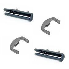 Set completo di cestino lavastoviglie Whirlpool RAIL TAPPI POSTERIORE x2 & RAIL tappi anteriore x 2