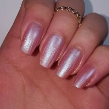 WINTER ROSE PINK Shiny Nail Polish 15ml indie 5-free handmade cruelty-free