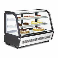 More details for refrigerated countertop food display cafe deli merchandiser fridge 160 litre
