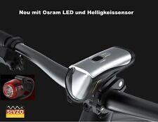 LED Fahrradbeleuchtung Set - Fahrradlicht - Fahrradlampe - StVZO LF12