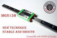 MGN15H Linear Sliding Guide / Block 200 250 300 350 400 450mm CNC 3D Printer DIY