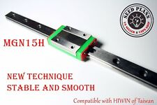 Mgn15h Linear Sliding Guide Block 200 250 300 350 400 450mm Cnc 3d Printer Diy